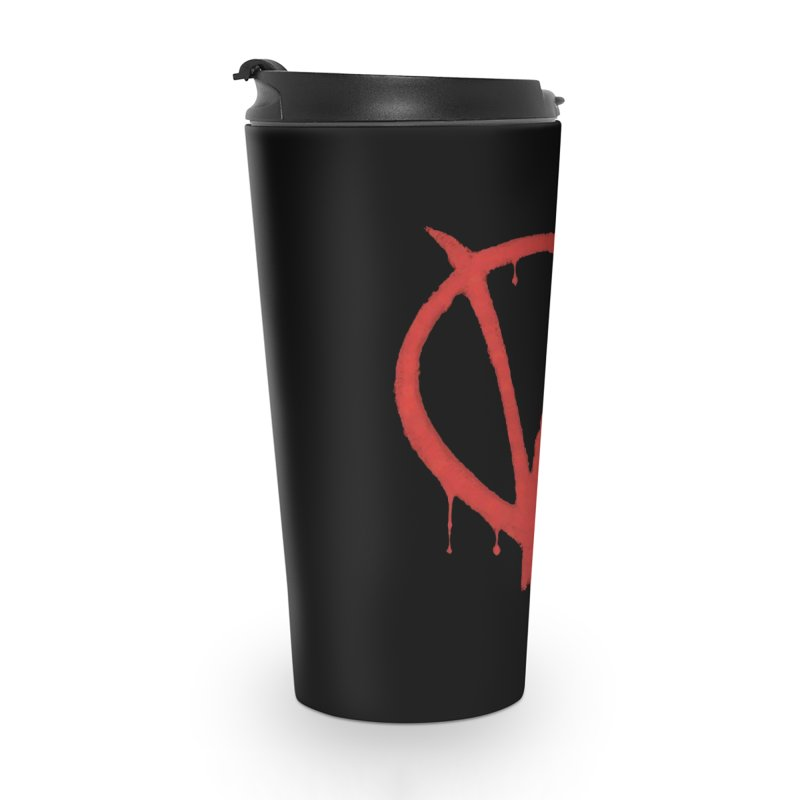 V for Vote Accessories Travel Mug by Resistance Merch
