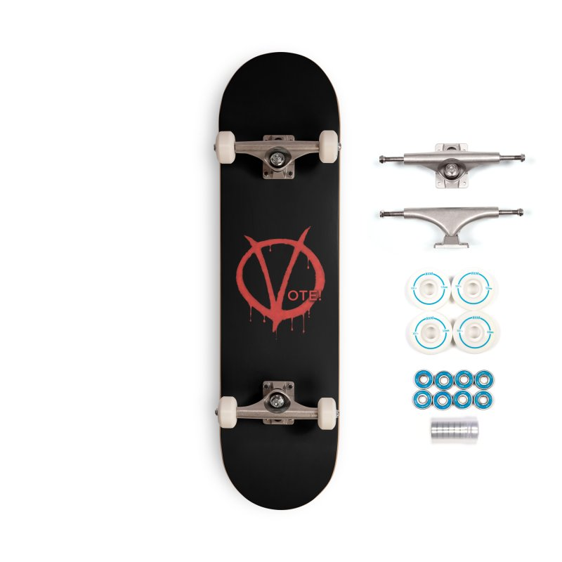 V for Vote Accessories Complete - Basic Skateboard by Resistance Merch