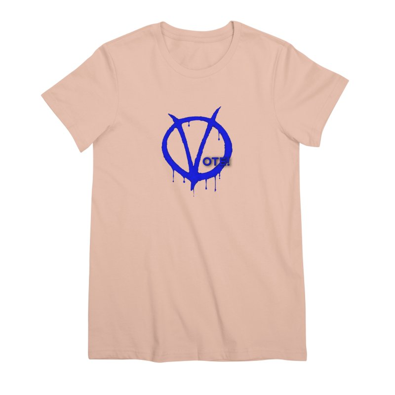 Vote Blue Women's Premium T-Shirt by Resistance Merch
