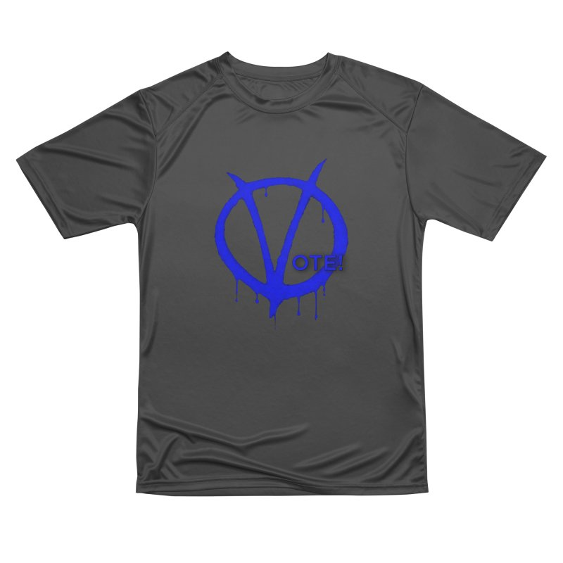 Vote Blue Men's Performance T-Shirt by Resistance Merch