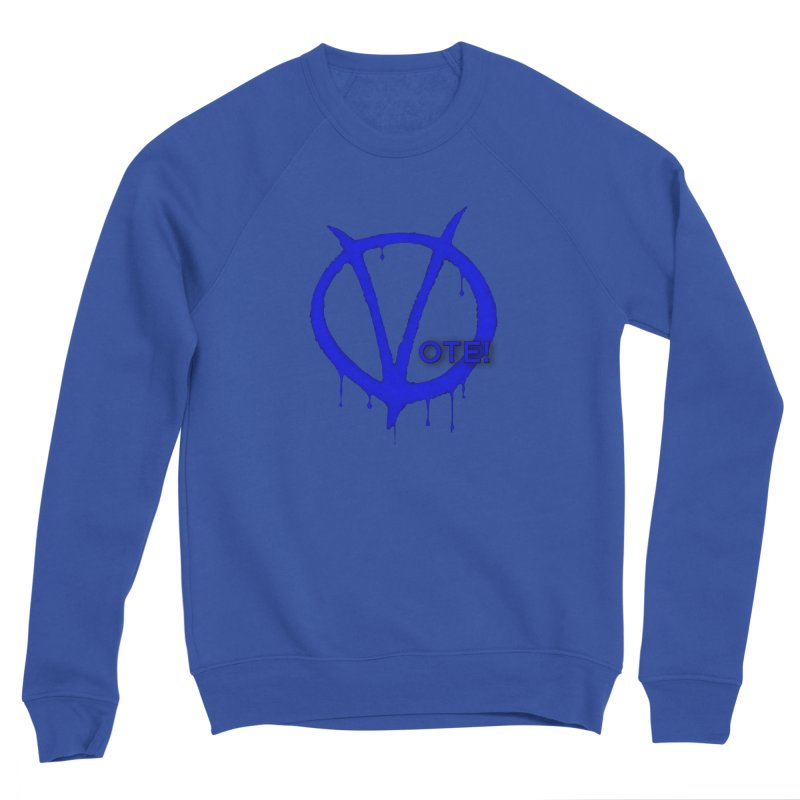 Vote Blue Women's Sweatshirt by Resistance Merch