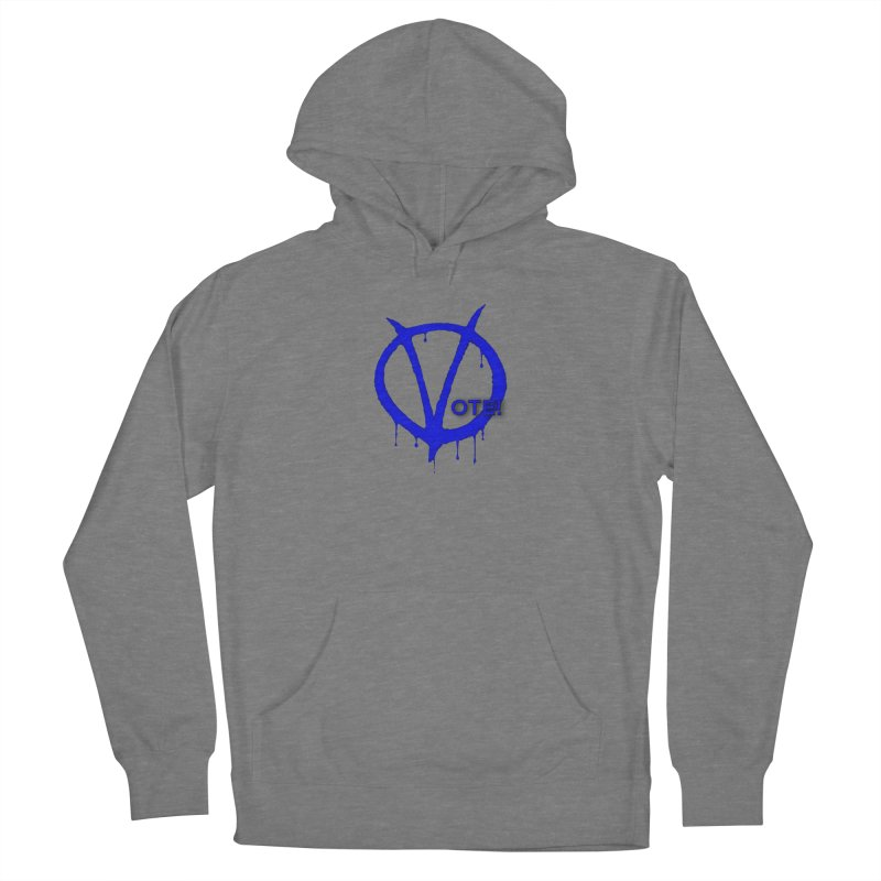 Vote Blue Women's Pullover Hoody by Resistance Merch