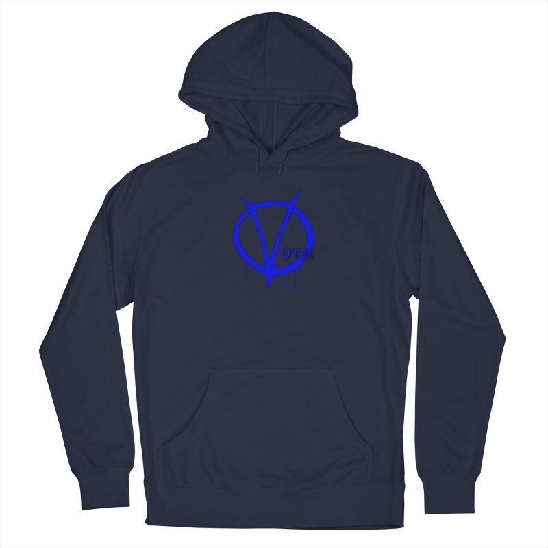 Vote Blue Men's Pullover Hoody by Resistance Merch