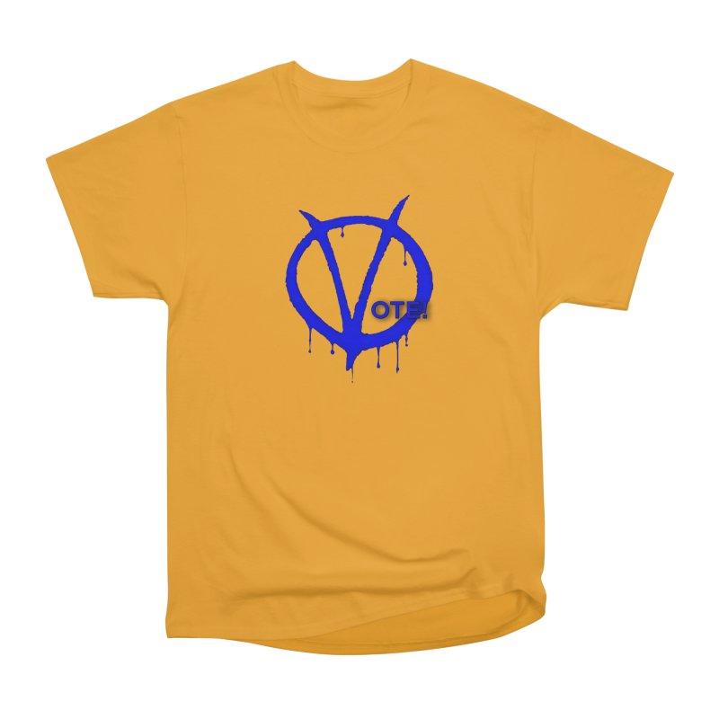 Vote Blue Men's Heavyweight T-Shirt by Resistance Merch