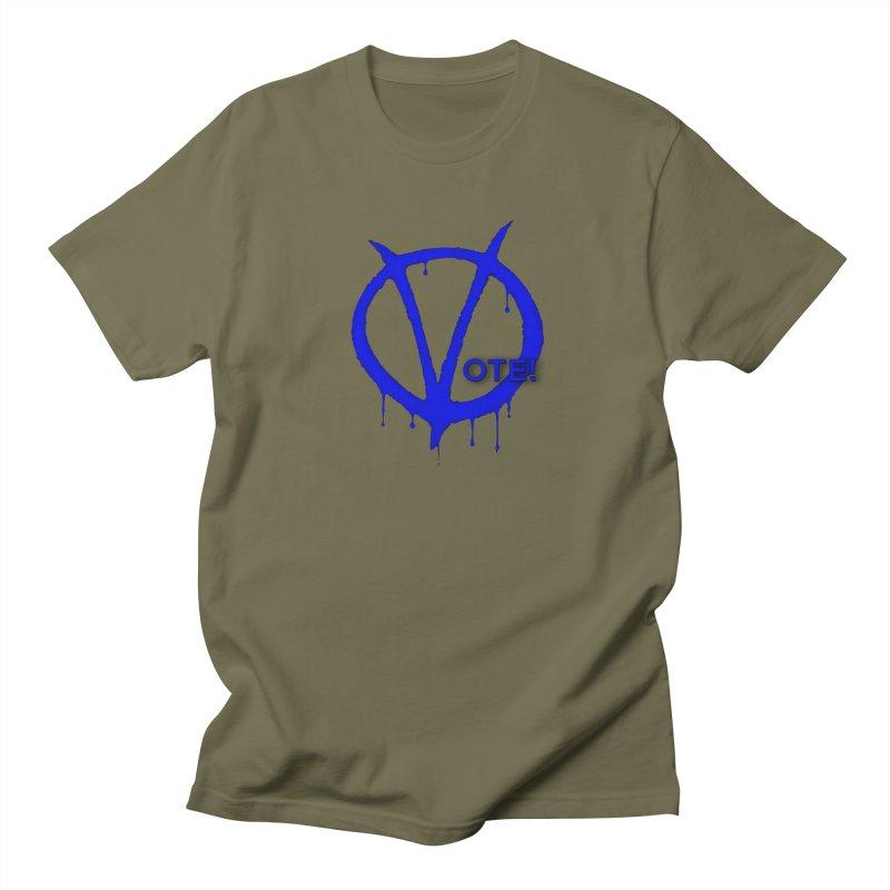 Vote Blue Men's T-Shirt by Resistance Merch