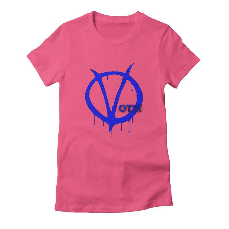 Vote Blue Women's T-Shirt by Resistance Merch