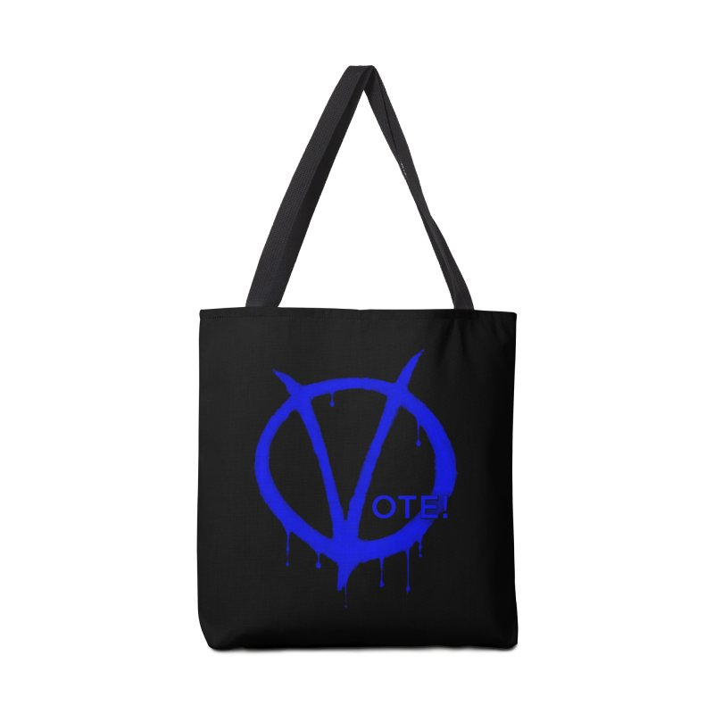 Vote Blue Accessories Tote Bag Bag by Resistance Merch