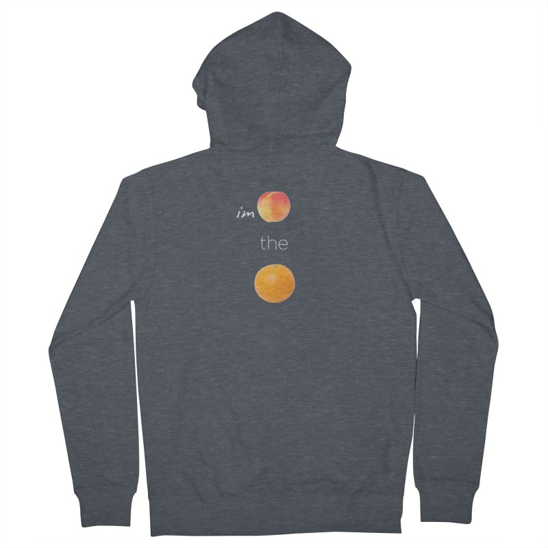 Impeach the Orange Men's French Terry Zip-Up Hoody by Resistance Merch