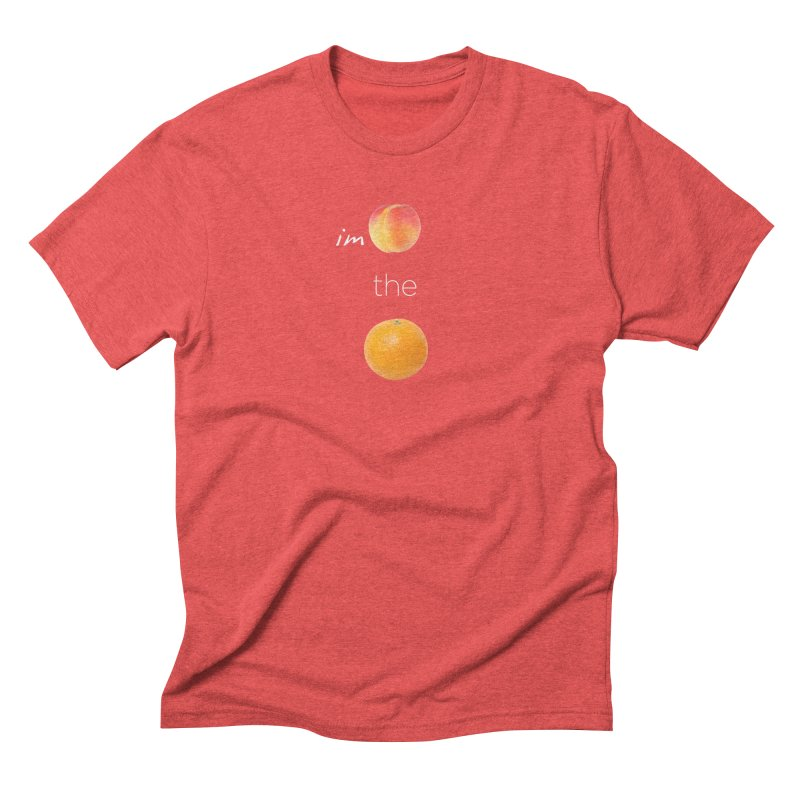 Impeach the Orange Men's Triblend T-Shirt by Resistance Merch