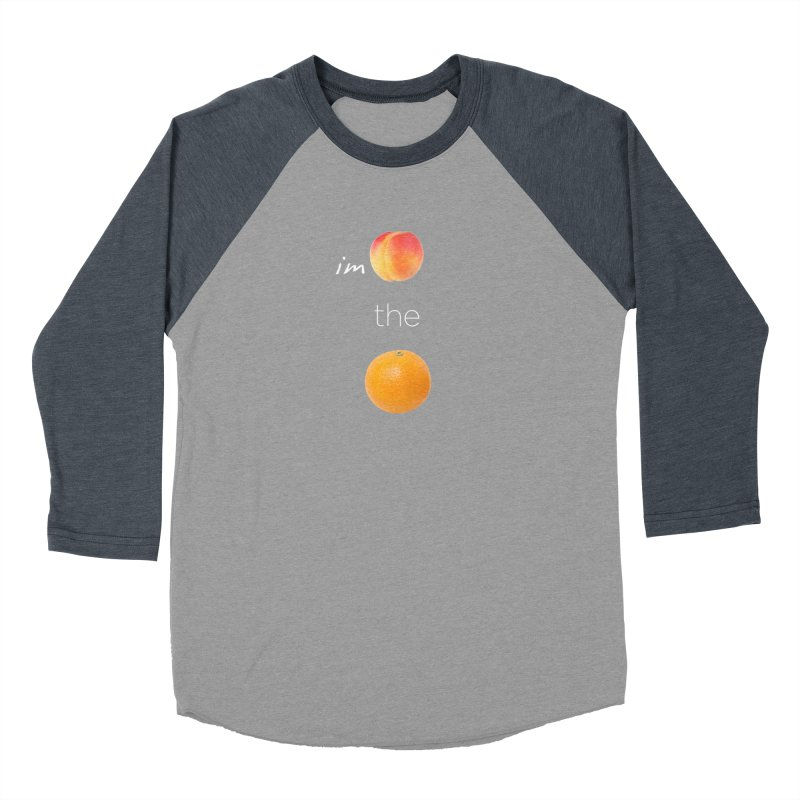 Impeach the Orange Men's Baseball Triblend Longsleeve T-Shirt by Resistance Merch
