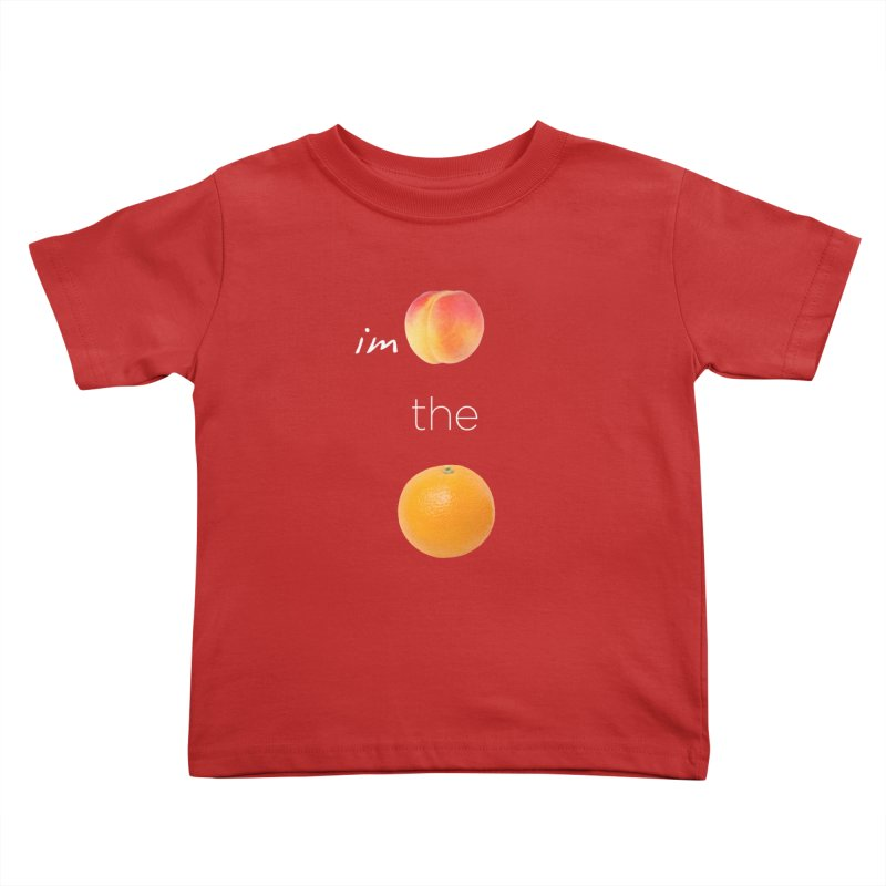 Impeach the Orange Kids Toddler T-Shirt by Resistance Merch