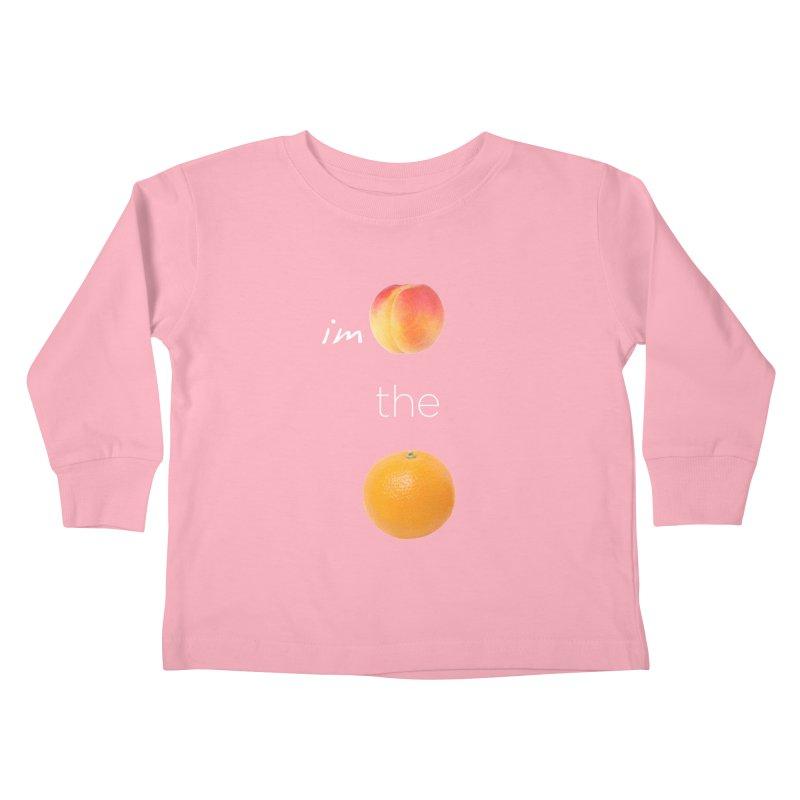Impeach the Orange Kids Toddler Longsleeve T-Shirt by Resistance Merch