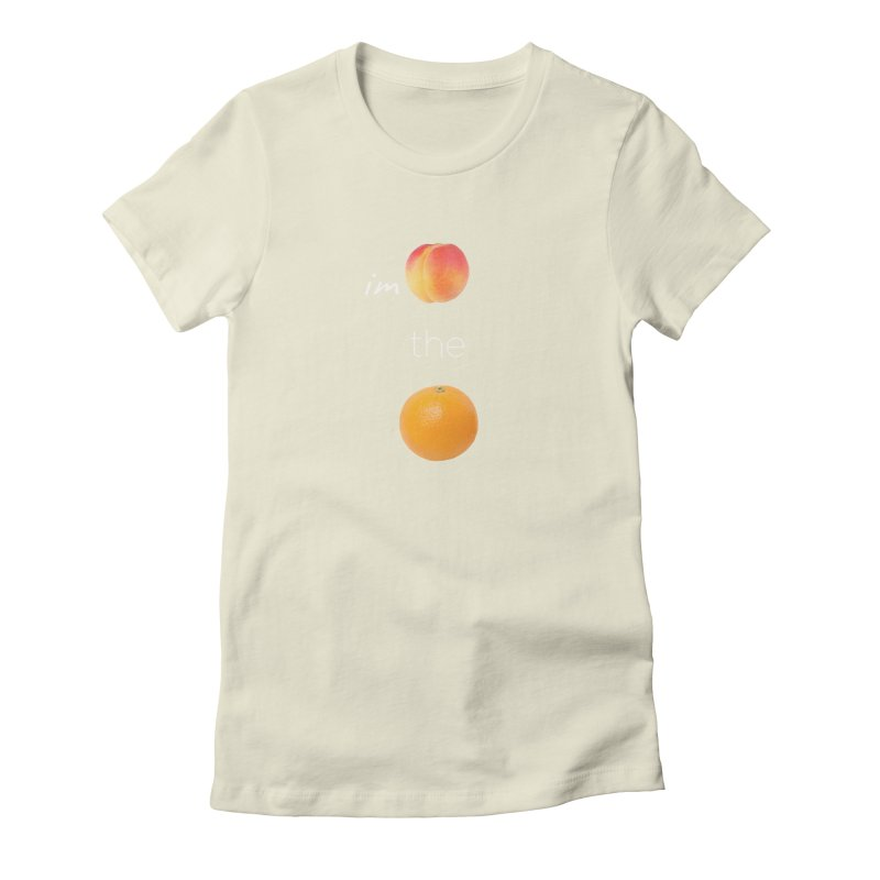 Impeach the Orange Women's Fitted T-Shirt by Resistance Merch