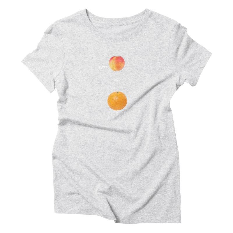 Impeach the Orange Women's Triblend T-Shirt by Resistance Merch