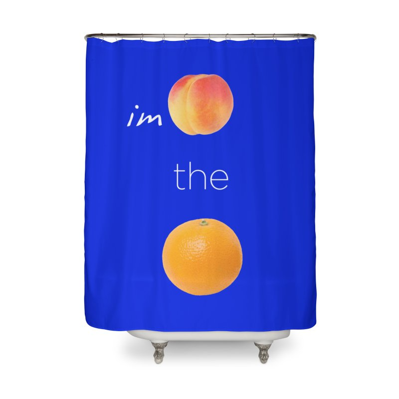 Impeach the Orange Home Shower Curtain by Resistance Merch
