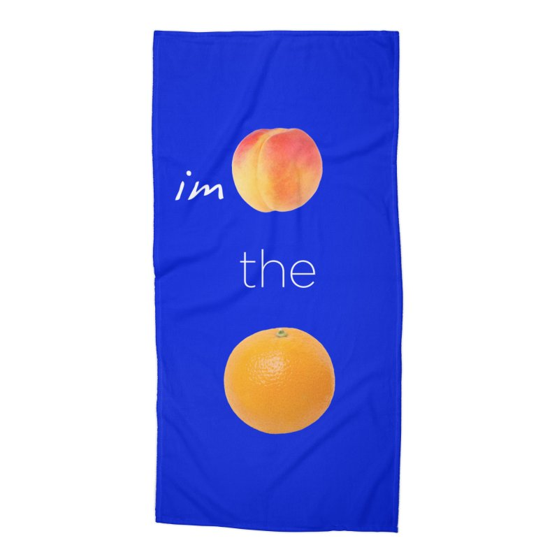 Impeach the Orange Accessories Beach Towel by Resistance Merch