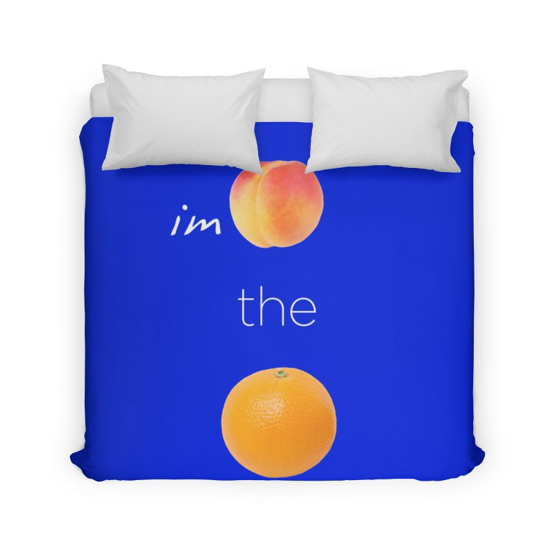Impeach the Orange Home Duvet by Resistance Merch