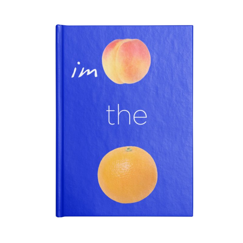 Impeach the Orange Accessories Lined Journal Notebook by Resistance Merch