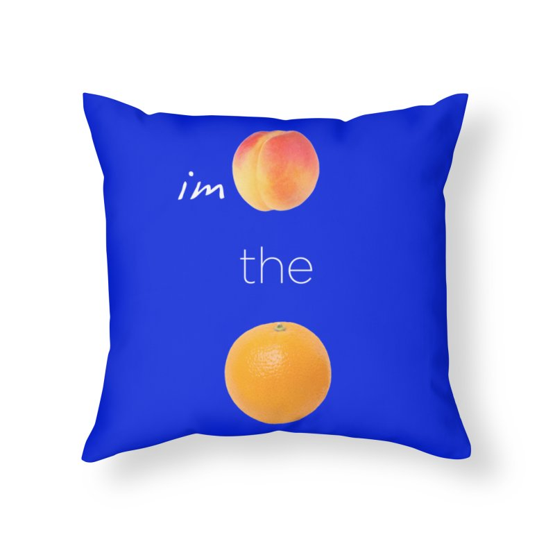 Impeach the Orange Home Throw Pillow by Resistance Merch