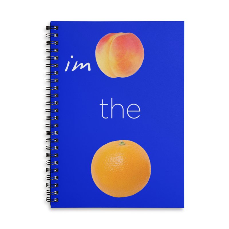 Impeach the Orange Accessories Lined Spiral Notebook by Resistance Merch