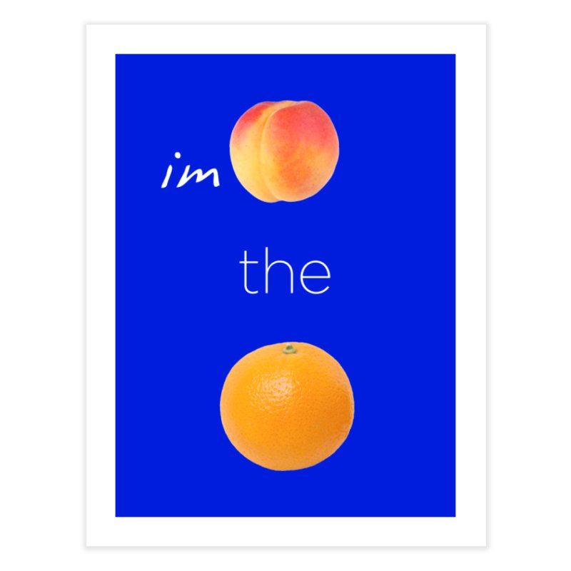 Impeach the Orange Home Fine Art Print by Resistance Merch
