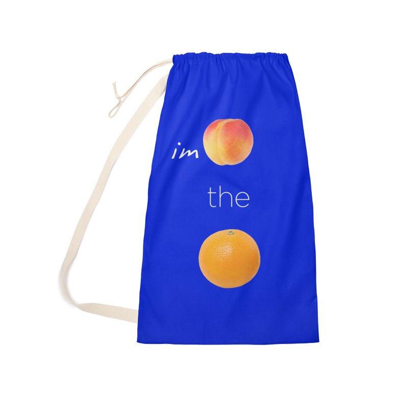 Impeach the Orange Accessories Laundry Bag Bag by Resistance Merch