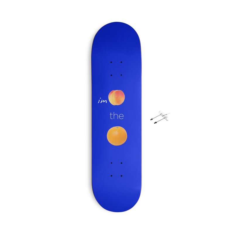Impeach the Orange Accessories With Hanging Hardware Skateboard by Resistance Merch