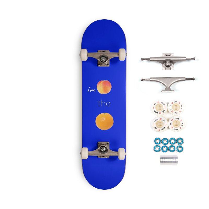 Impeach the Orange Accessories Complete - Premium Skateboard by Resistance Merch