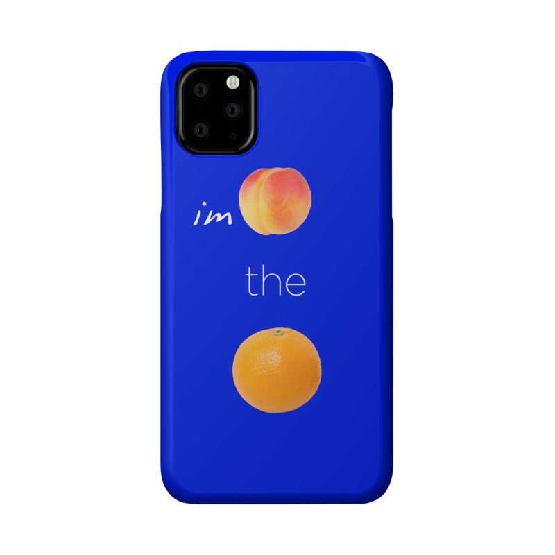 Impeach the Orange Accessories Phone Case by Resistance Merch