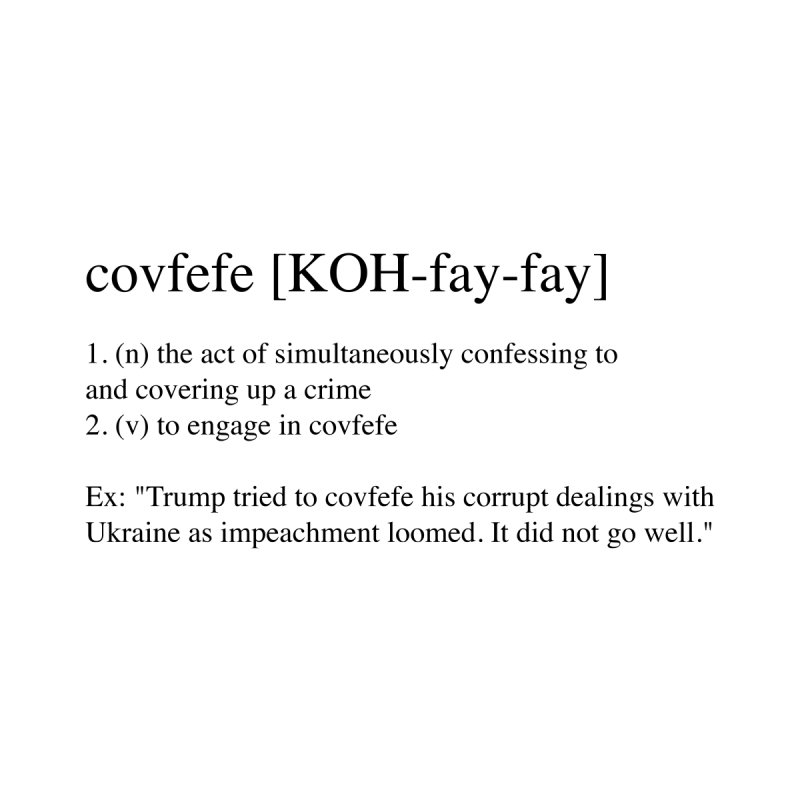 Covfefe! by Resistance Merch