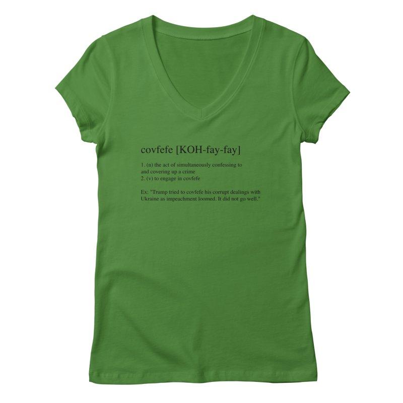 Covfefe! Women's Regular V-Neck by Resistance Merch