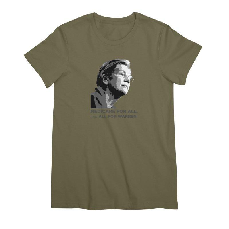 All for Warren Women's Premium T-Shirt by Resistance Merch