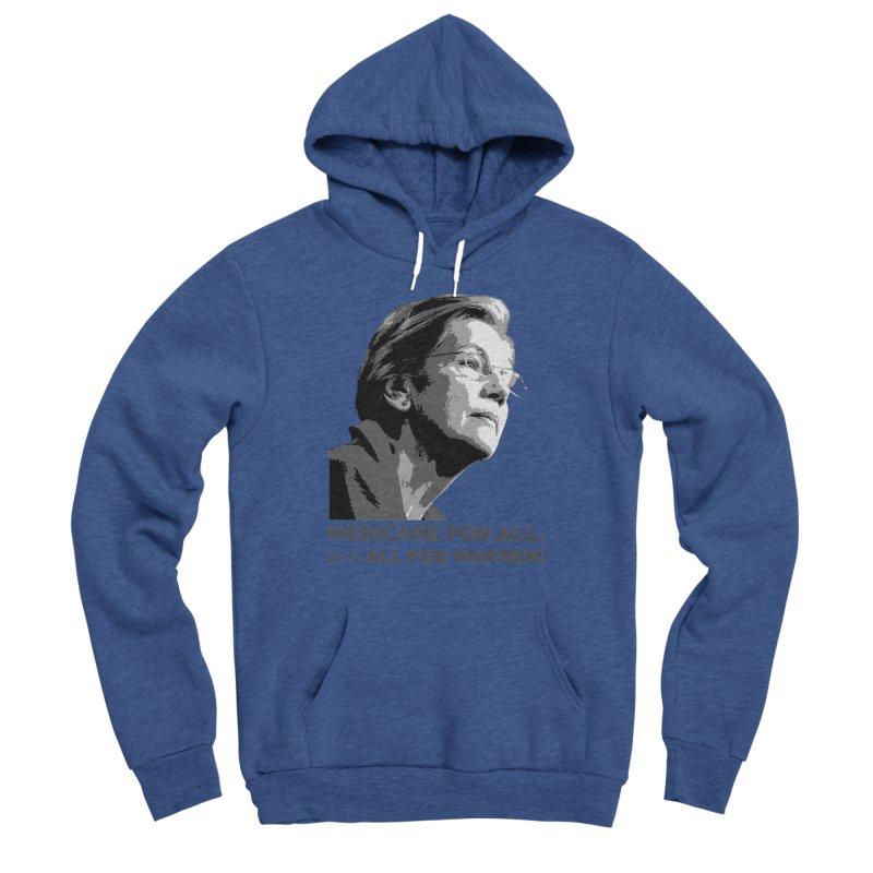 All for Warren Women's Sponge Fleece Pullover Hoody by Resistance Merch