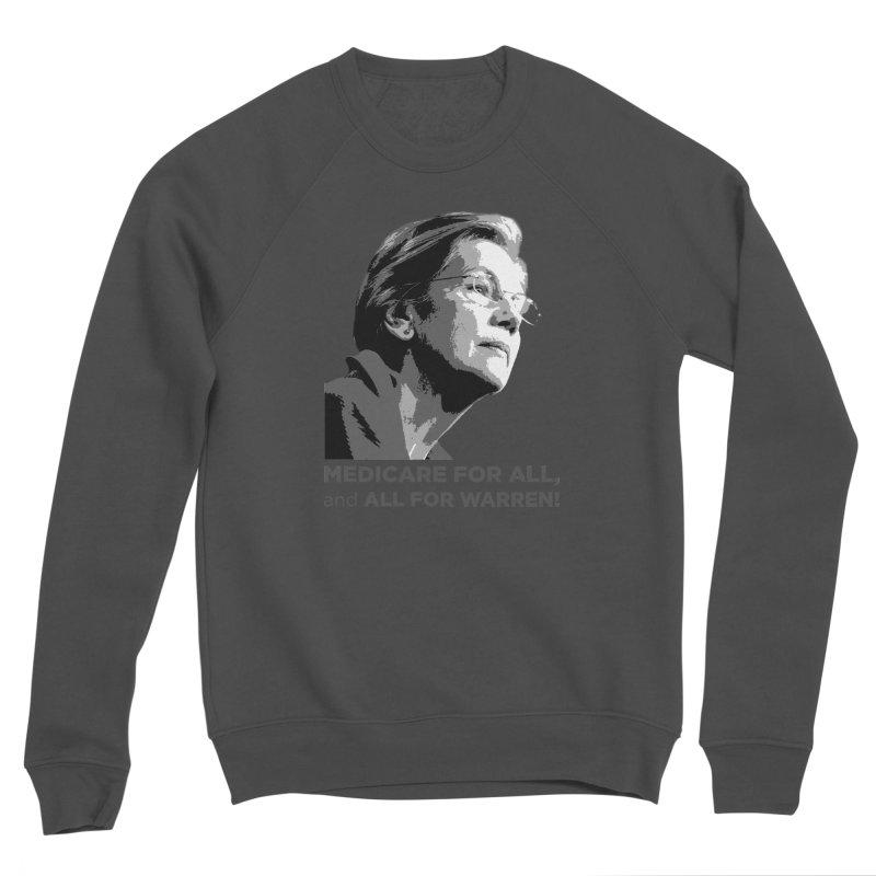 All for Warren Women's Sponge Fleece Sweatshirt by Resistance Merch