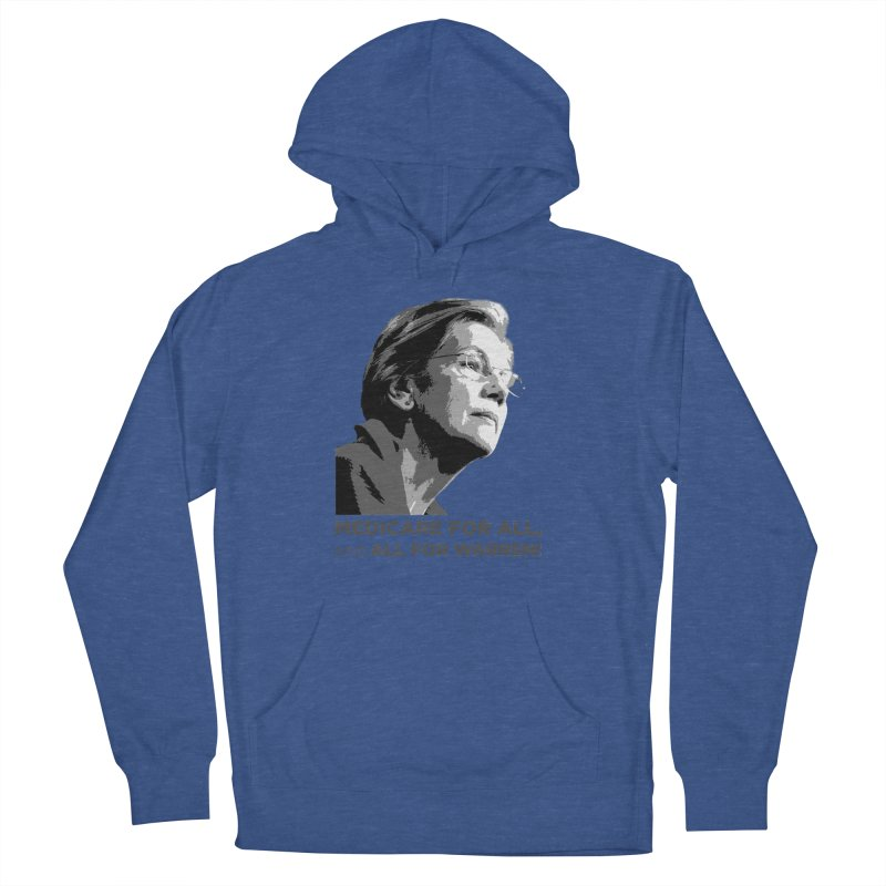All for Warren Women's French Terry Pullover Hoody by Resistance Merch