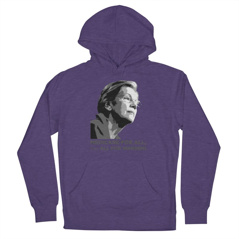 All for Warren Men's French Terry Pullover Hoody by Resistance Merch