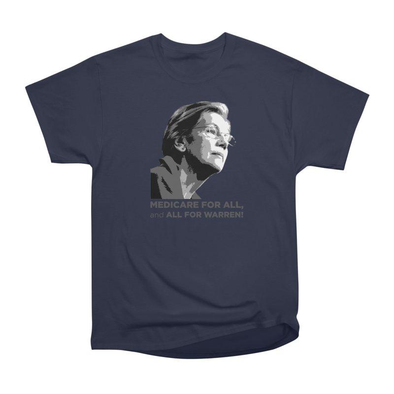 All for Warren Men's Heavyweight T-Shirt by Resistance Merch