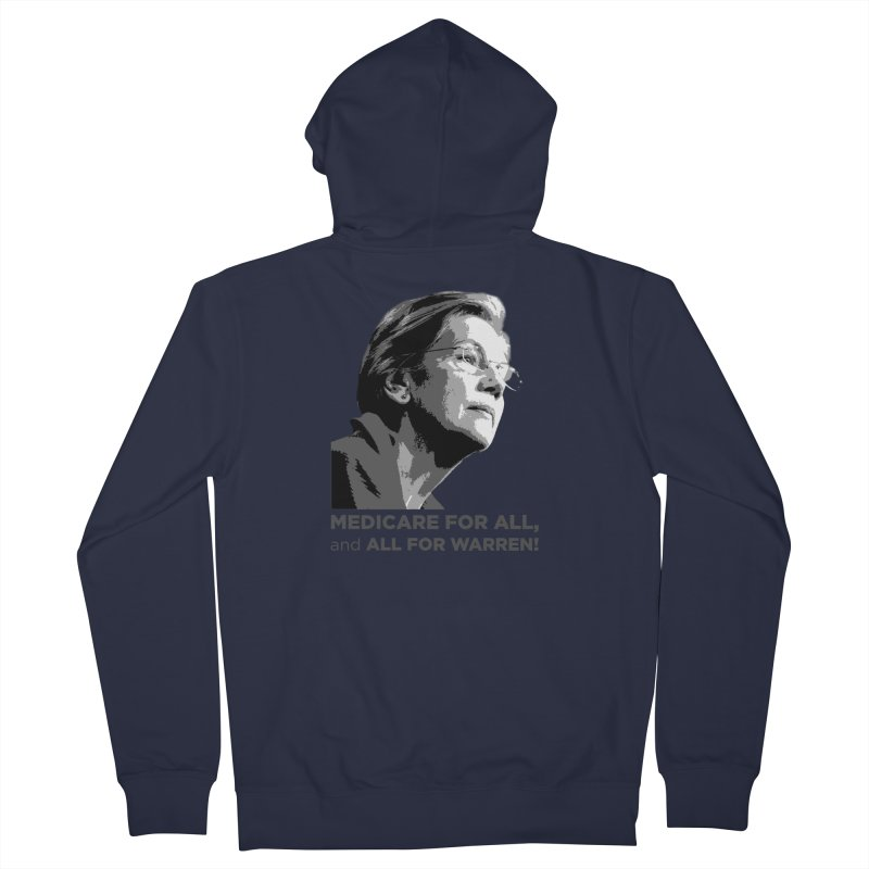 All for Warren Women's French Terry Zip-Up Hoody by Resistance Merch