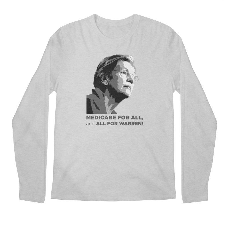 All for Warren Men's Regular Longsleeve T-Shirt by Resistance Merch