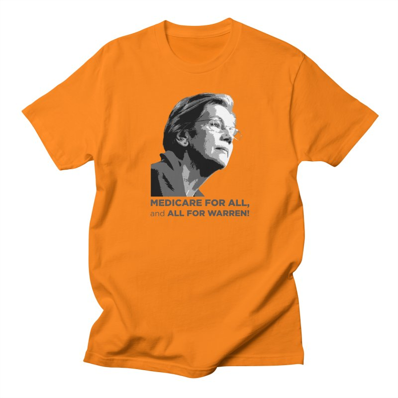 All for Warren Men's Regular T-Shirt by Resistance Merch