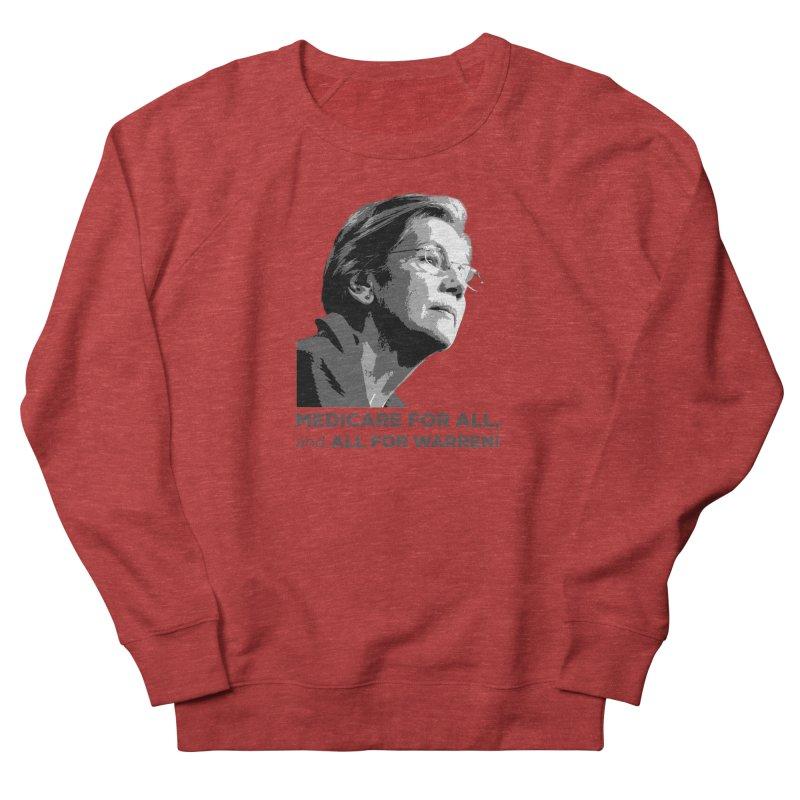 All for Warren Men's French Terry Sweatshirt by Resistance Merch
