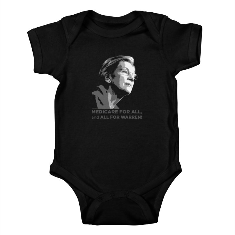 All for Warren Kids Baby Bodysuit by Resistance Merch