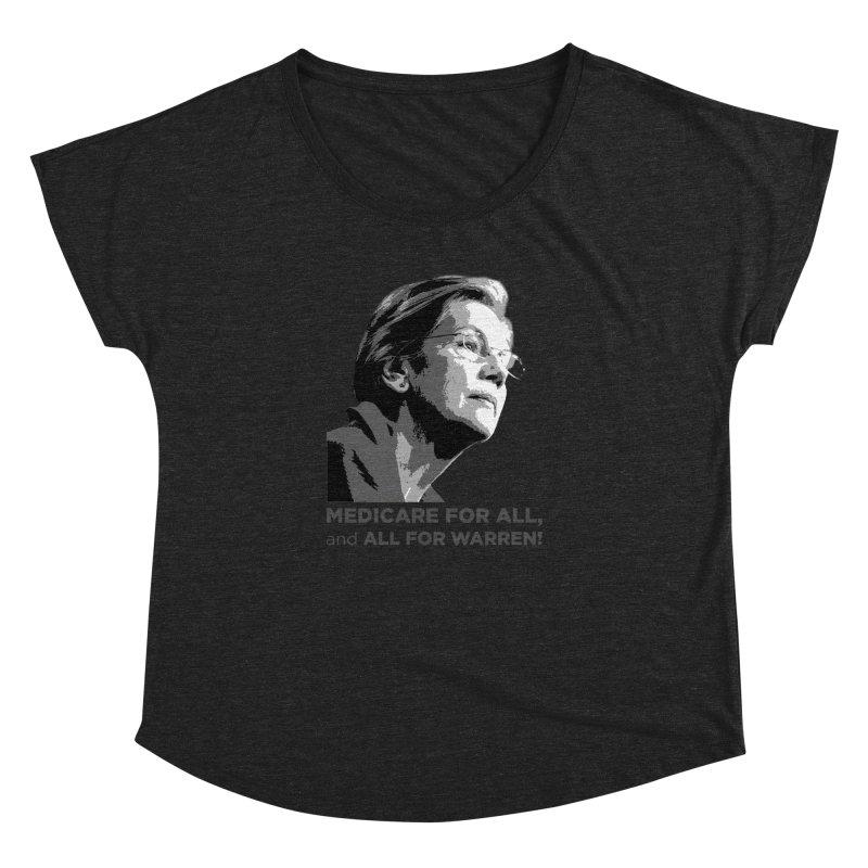 All for Warren Women's Dolman Scoop Neck by Resistance Merch