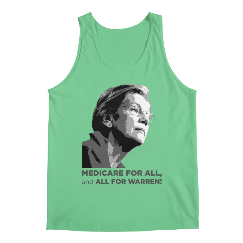 All for Warren Men's Regular Tank by Resistance Merch