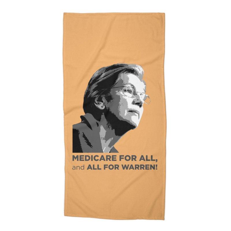All for Warren Accessories Beach Towel by Resistance Merch