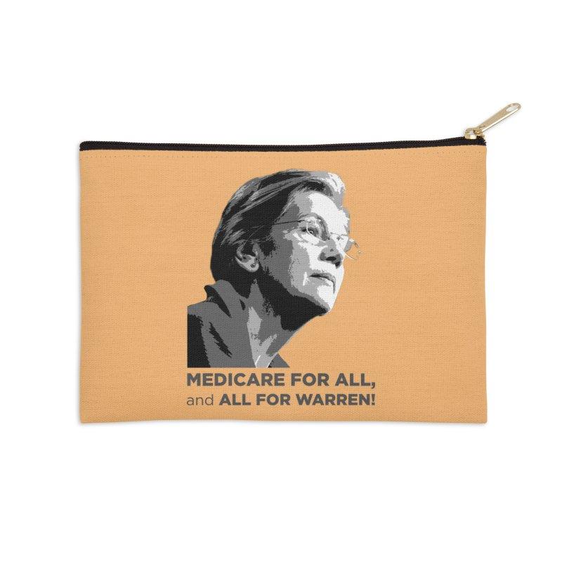 All for Warren Accessories Zip Pouch by Resistance Merch
