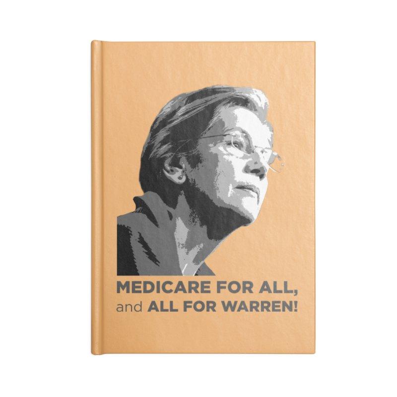 All for Warren Accessories Blank Journal Notebook by Resistance Merch