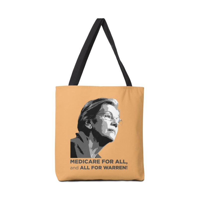 All for Warren Accessories Tote Bag Bag by Resistance Merch