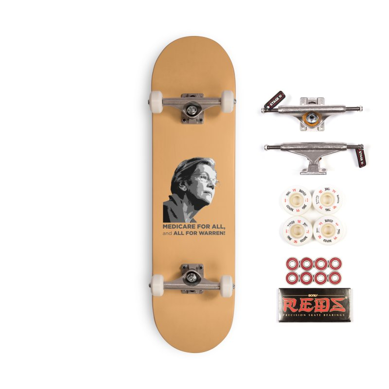 All for Warren Accessories Complete - Pro Skateboard by Resistance Merch
