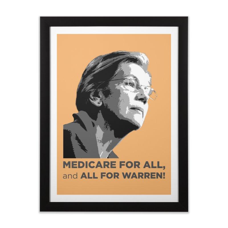 All for Warren Home Framed Fine Art Print by Resistance Merch
